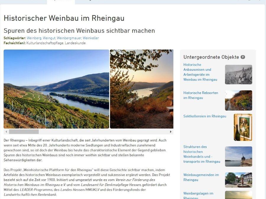 Weinhistorische Plattform